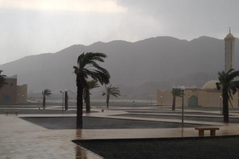 En esta época del año son muy frecuentes las tormentas sobre las cuatro de la tarde.